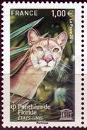 FRANCE- 2016- Big Cats- FLORIDA PANTHER- Gros Chats- Grosse Katzen-