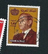 N° 937 Roi Hassan Ll  TIMBRE Maroc (1983) Oblitéré - Marruecos (1956-...)