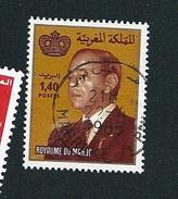 N° 937 Roi Hassan Ll  TIMBRE Maroc (1983) Oblitéré
