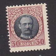 Danish West Indies, Scott #48, Mint Hinged, Frederik VIII, Issued 1908 - Denmark (West Indies)