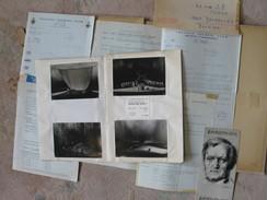 Bayreuth Wagner 1974 Documents Voyage Tickets Entrées, Cartes Postales Des Réprésentations, Photos Spectateurs - Musique & Instruments