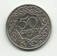 1923 - Polonia 50 Groszy, - Polonia