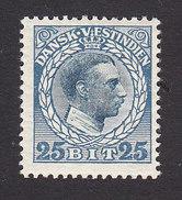 Danish West Indies, Scott #55, Mint Hinged, Christian X, Issued 1915