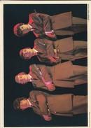 CHANTEUR--groupe LES LIONCEAUX--carte Géante--disques MERCURY--offert Par CALTEX-dédicace Imprimée-voir 2 Scans - Singers & Musicians