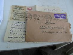 TERZO  REICH  BUSTA   1943 Con Manoscritto - Storia Postale