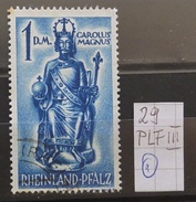 Rheinland-Pfalz 29PLFIII USED Siehe Beschreibung