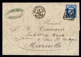 France N° 60 S/Le GC 2240 + Càd PHILIPPEVILLE Bat à VAP. - TB Qualité - Marcophilie (Lettres)