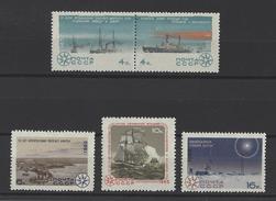 RUSSIE . YT 3017/3021 Neuf ** 145e Ann De La Découverte De L'Antarctique Par L'expédition Russe Lazarov-Bellenshausen