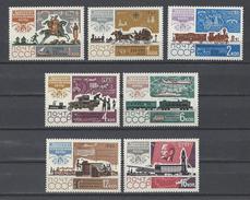RUSSIE . YT 3022/3028 Neuf ** Histoire De La Poste 1965