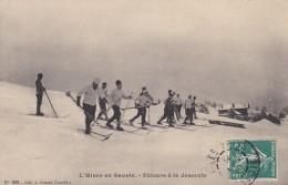 C18 - 73 - Savoie - L'Hiver En Savoie - Skieurs à La Descente - France