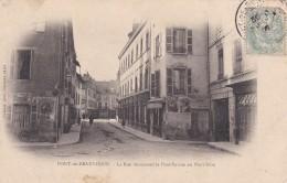 C18 - 73 - Pont De Beauvoisin - Savoie - La Rue Réunissant Le Pont-Savoie Au Pont-Isère - France