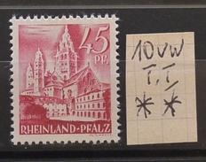 Rheinland-Pfalz 10vwI**  Siehe Beschreibung