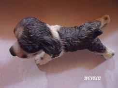 Cocker Couché En Résine - Dogs