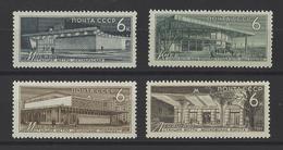 RUSSIE . YT 3036/3039 Neuf ** 30e Anniversaire Des Métros Soviétiques 1965