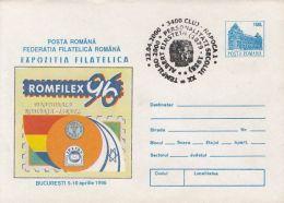 60631- ALBERT EINSTEIN YEAR, SPECIAL POSTMARK ON PHILATELIC EXHIBITION COVER STATIONERY, 2000, ROMANIA