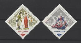 RUSSIE . YT 3060/3061 Neuf ** Bicentenaire De La Manufacture De Céramique  Dmitrov 1966