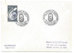 OBLITERATION EXPO RELAIS DE POSTE HENRI IV à SAINT MACAIRE GIRONDE 1974 - Bolli Commemorativi