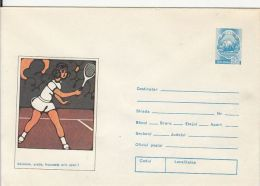 60687- TENNIS, COVER STATIONERY, 1974, ROMANIA