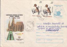 60692- WORLD BOWLING CHAMPIONSHIP, COVER STATIONERY, 1995, ROMANIA