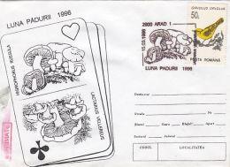 60834- MUSHROOMS, SPECIAL COVER, 1996, ROMANIA