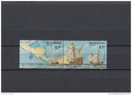 Nicaragua Nº 1433 Al 1434