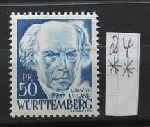 Württemberg 24**  Siehe Beschreibung