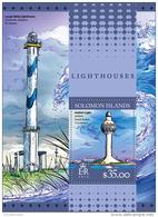 SOLOMON ISLANDS 2016 ** Lighthouses Leuchttürme Phares S/S - OFFICIAL ISSUE - A1643