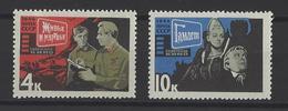 RUSSIE . YT 3071/3072 Neuf ** Art Cinématographique Soviétique 1966
