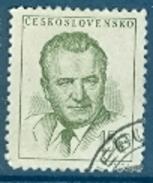 Tschechoslowakei Mi. 808 + 810 Gest. Präsident Gottwald