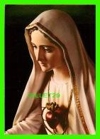 RELIGIONS - LA VIERGE AVEC SON SACRÉ COEUR - - CONG. DO ESP. SANTO - - Vierge Marie & Madones