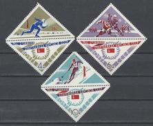 RUSSIE . YT 3075/3077  Neuf ** 2e Spartakiades De Sports D'hiver 1966