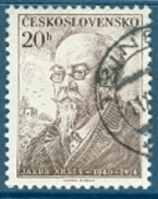 Tschechoslowakei Mi. 910 + 916 Gest. Schriftsteller Arbes + Safarik