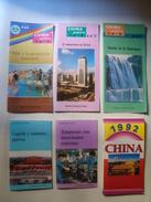 3 CHINA GRAFICA, 2 PRESENCIA DE CHINA + 1 CHINA 1992. EDITORIAL NUEVA ESTRELLA / XINXING. - Cultural