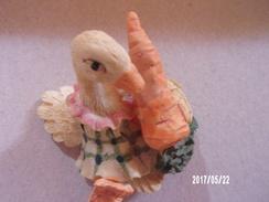 Oie Yves Rocher En Résine - Oiseaux