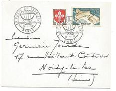 OBLITERATION EXPO LA POSTE EN 1870/1871 AU MUSEE POSTAL PARIS 1959 - Commemorative Postmarks