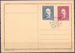 Cechy & Morava 1944: Bedrich Smetana (1924-1884) Mi 138-9 Mit Ersttag-o KLADNO 12.V.44 - Bohême & Moravie