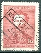 Tschechoslowakei 1938 Mi. 336 Gest. Allslawische Sokolspiele TGST Nove Sedlo