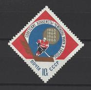 RUSSIE . YT 3092 Neuf ** Victoire Soviétique Aus Championnats Du Monde De Hockey Sur Glace à Ljubljana 1966