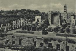 Roma - Venus` Temple - Temple De Venus.   Vatican Stamp.   Italy   # 06146 - Roma (Rome)