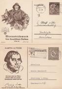 Allemagne 2 Entiers Postaux Illustrés Différents