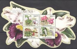 SS198 2011 GUINE-BISSAU FLORA PLANTS FLOWERS ORQUIDEAS KB MNH
