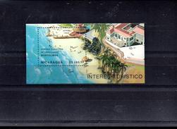 NICARAGUA BLOC 188** SUR LE CENTRE TOURISTIQUE MONTELIMAR