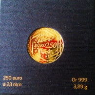 PIECE DE 250 € OR 2013 - MONNAIE DE PARIS - VENDU DANS SON ETUI D'ORIGINE - France