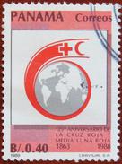 FREE POSTAGE!! Panama 1989 125 Years International Red Cross, Rotes Kreuz, Health, 1v Part, Used, Gestempelt, Vg