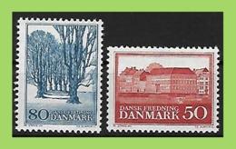 Denmark, 1966  Mi 442+443 ** MNH Postfrisch