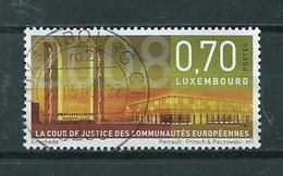 2008 Luxemburg European Council Used/gebruikt/oblitere