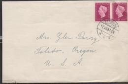3140 Carta Holanda Ferwerd   1947 - Periode 1891-1948 (Wilhelmina)