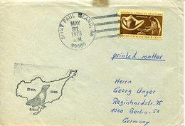 21793 U.s.a.  Special Postmark Of The Saint Paul Island, Alaska