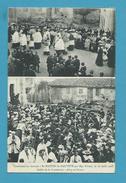 CPA DEUX VUES Défilé De La Procession - Confirmation Par Mgr Forest En 1908 à ST-MARTIN-LA-SAUVETE 42 - Otros Municipios