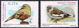 Andorre Espagnol - Oiseaux 277/278 **